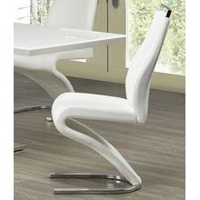 View Product - Side Chair White Leatherette