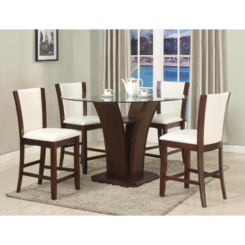 Camelia 5pc Counter Height Dining Set