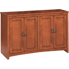 "48"" Wide Cabinet - Glazed Antique Cherry Finish"