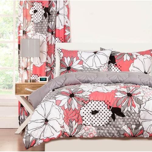 """Flower Patch"" Crayola Comforter Sets Twin"