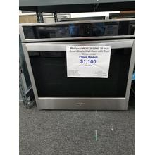 "Whirlpool 30"" Smart Single Wall Oven with True Convection WOS72EC0HS (FLOOR MODEL)"