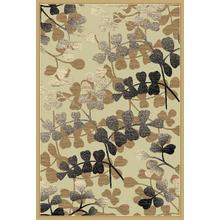 Hampton Collection Champaign 5x7 Rug