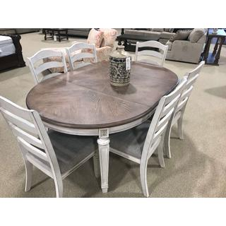 See Details - Realyn 7 Piece Dining Set