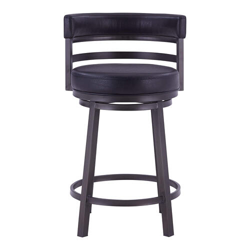 """In Stock Specials - """"Ronny"""" Style Swivel Stool. Available in 2 Color Combinations."""