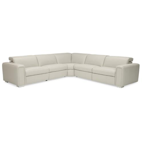 Palliser - TITAN Leather Sectional with Power Recline