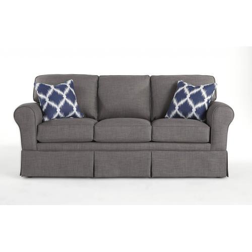 ANNABEL Skirted Sofa With Sock Arm