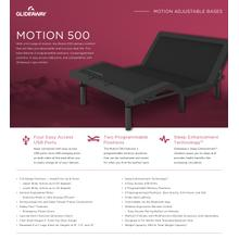 GLIDEAWAY GM500 Adjustable Comfort Livestyle Base
