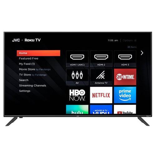 "JVC 65"" Class 4K UHD 2160p LED Roku Smart TV"