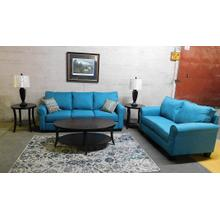 2600 Teal Sofa & Loveseat