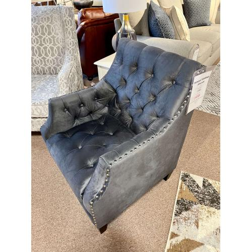 Elements - Norway Charcoal Accent Chair
