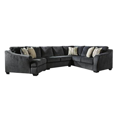 3 piece cuddler chaise sectional