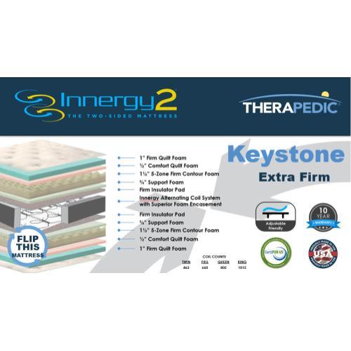 Therapedic - Keystone - Extra Firm