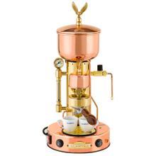 See Details - Elektra Micro Casa Semiautomatica Espresso Machine, Copper and Brass