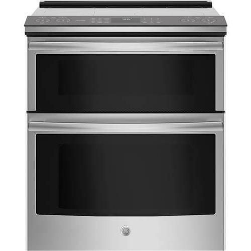 """GE Appliances - GE Profile Series 30"""" Slide-In Electric Double Oven Convection Range"""