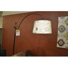 Ashley Furniture metal floor lamp.