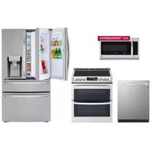 LG 4-Piece Stainless Steel Appliance Package