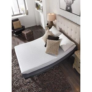 "Randy Queen 12"" Chime Hybrid Mattress with Head & Foot Adjustable Base and Zoned Massage"