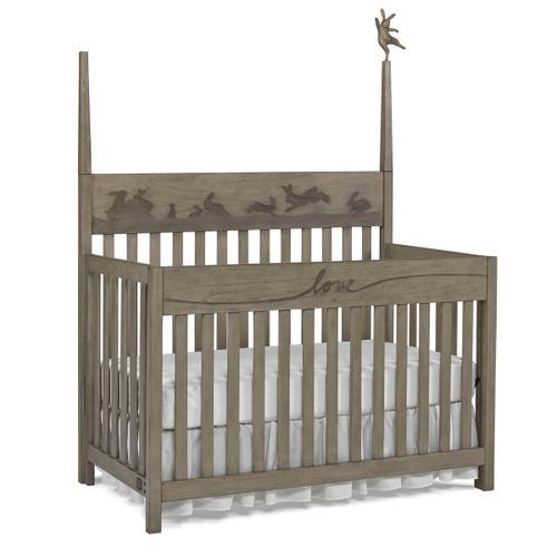 Forest Animal Convertible Crib