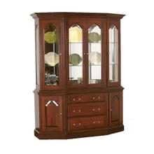 Canted China Hutch