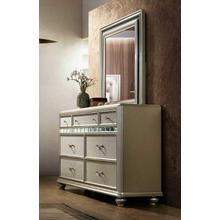 AVALON B00846DM Kaleidoscope Reflections Dresser & Mirror