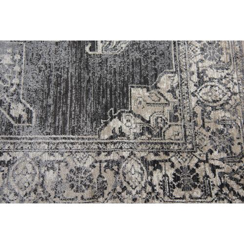 Panache Gray/Black Area Rug
