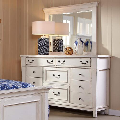 Stoney Creek Dresser & Mirror