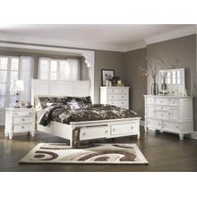 Eleven Series Queen Storage Bed Dresser Mirror Chest and Night Stand