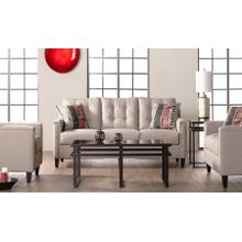 Grey Contemporary Sofa & Loveseat