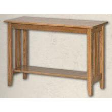 Oak Mission End Table