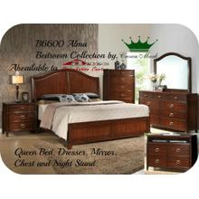 Crown Mark Furniture B6600 Alma Bedroom set Houston Texas USA Aztec Furniture