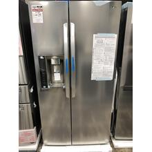 22 cu. ft. Smart wi-fi Enabled Side-by-Side Counter-Depth Refrigerator **OPEN BOX ITEM** West Des Moines Location