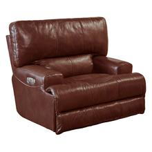 Wembley Power Headrest/Power Lay Flat Recliner - Walnut