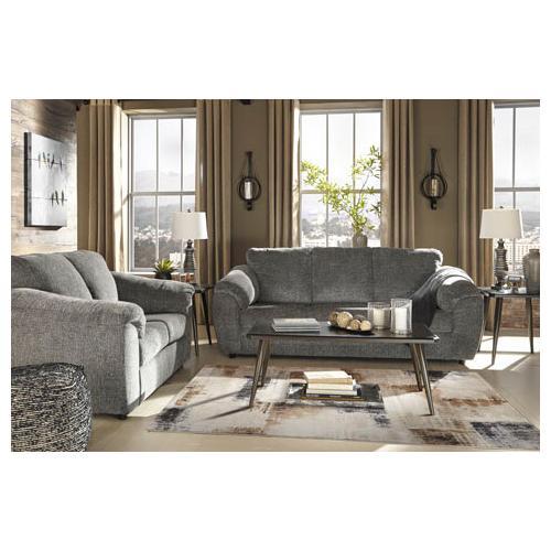 Azaline- Slate Sofa and Loveseat