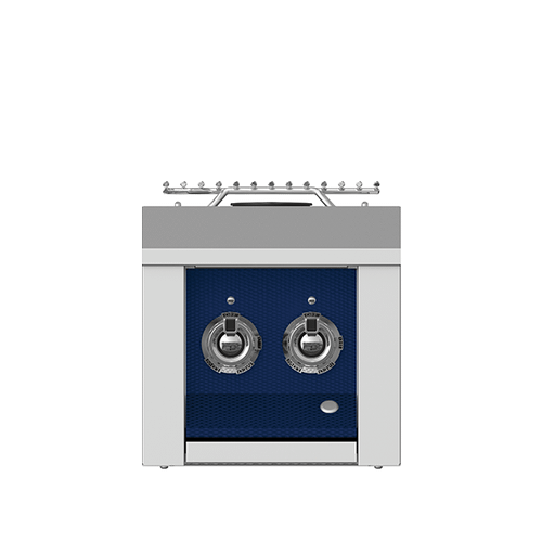 """Product Image - Aspire by Hestan 12"""" Double Side Burner NG Midnight Blue"""