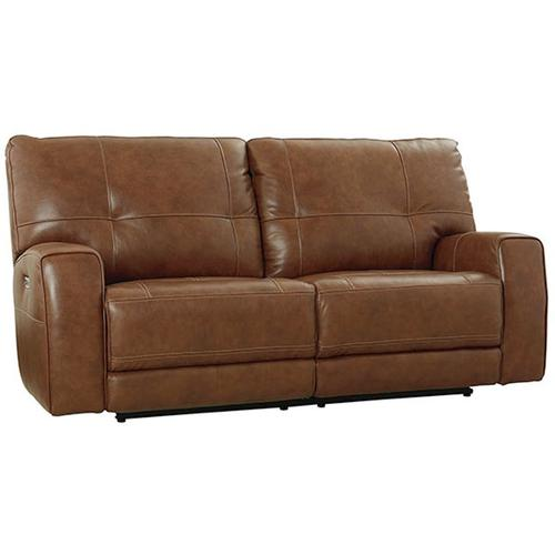 Conway Motion Sofa w/ Power in Umber