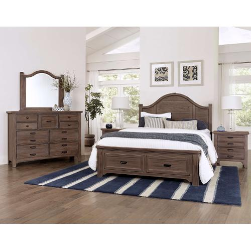 King Bungalow Folkstone Arch Storage Bed