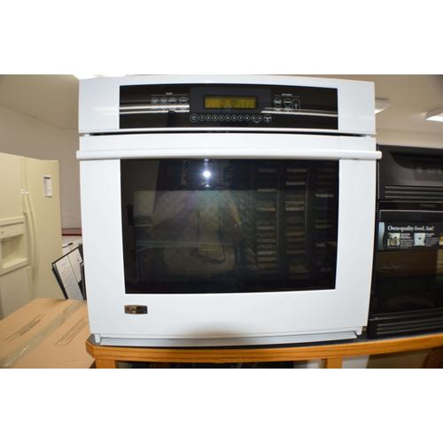"30"" Self Cleaning Convection Oven (White)"
