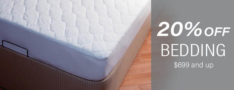20% Off Bedding and Bed Sets