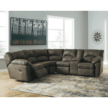 Tambo - Canyon - 2 Recliner Sectional with Right Facing Console