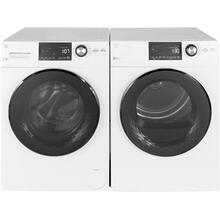 "GE 24"" 2.4 cu. ft Steam Washer and 4.3cu. ft. Dryer"