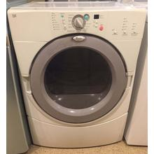 Used Whirlpool White Front Load Electric Dryer