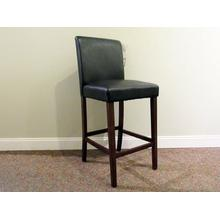 Low Parson Stool Black