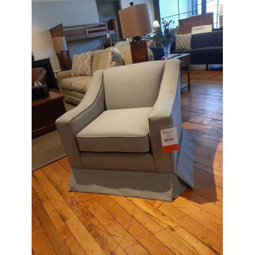 CLEARANCE Emeline Club with Skirt Chair