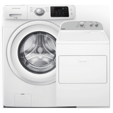 4.2 cu. ft. Front Load Washer & 7.0 cu. ft. Top Load Electric Dryer- Open Box
