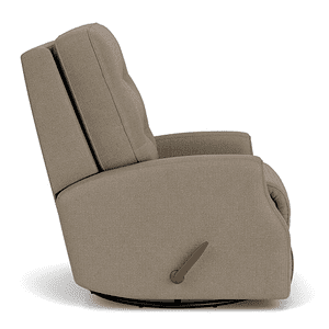 Flexsteel - Devon Fabric Power Recliner w/ Tilt Headrest 296-01