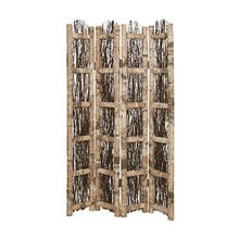 Birch Screen 4 Panel Room Divider
