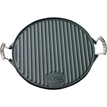 Rosle Stainless Steel Grill Plate Round, 15.7-Inches