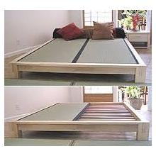 Tatami Low Platform Bed -- Twin XL