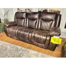 See Details - Waylon Espresso Power Sofa
