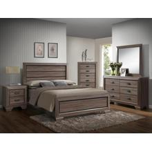CrownMark 4 Pc Queen Bedroom Set, Farrow B5500